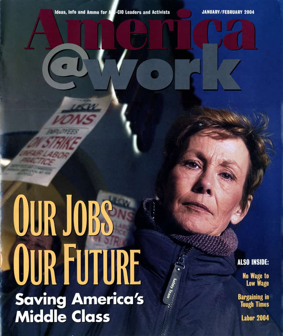 America at Work Magazine Cover