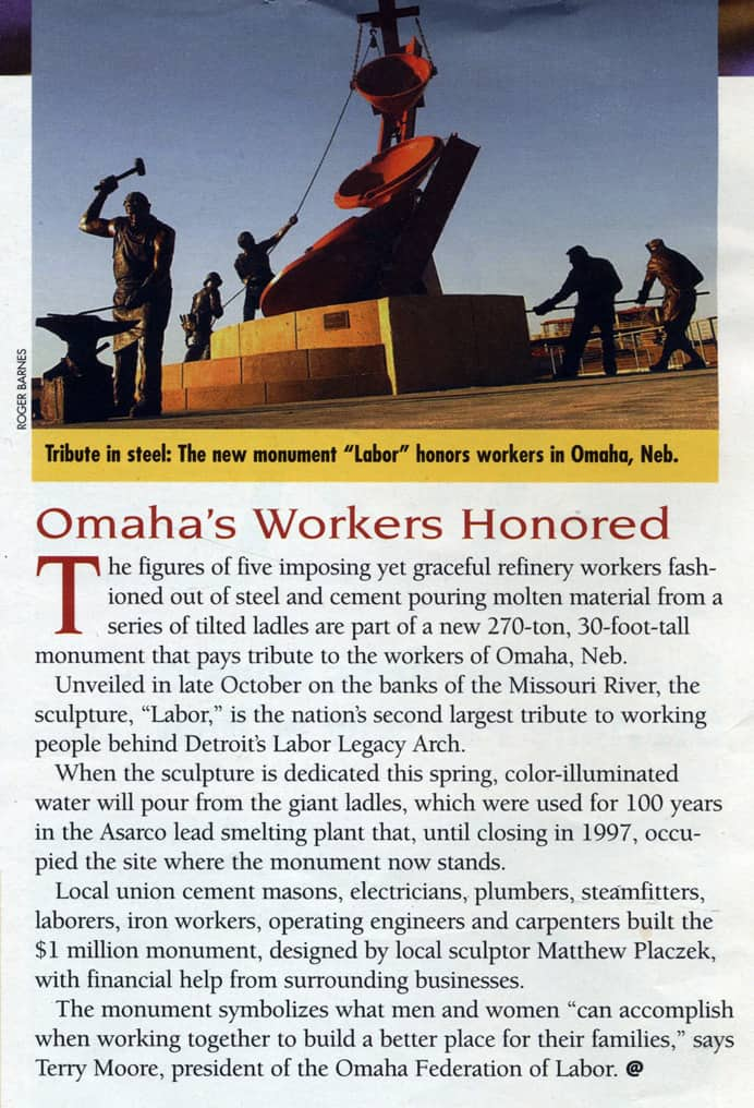 America at Work Article