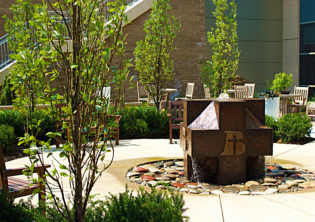 Bergan Mercy Water Feature Sculpture