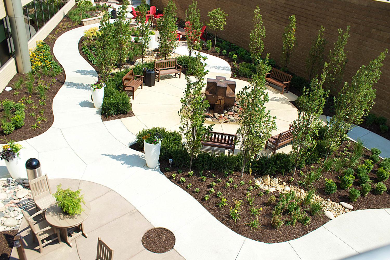Bergan Mercy Healing Garden