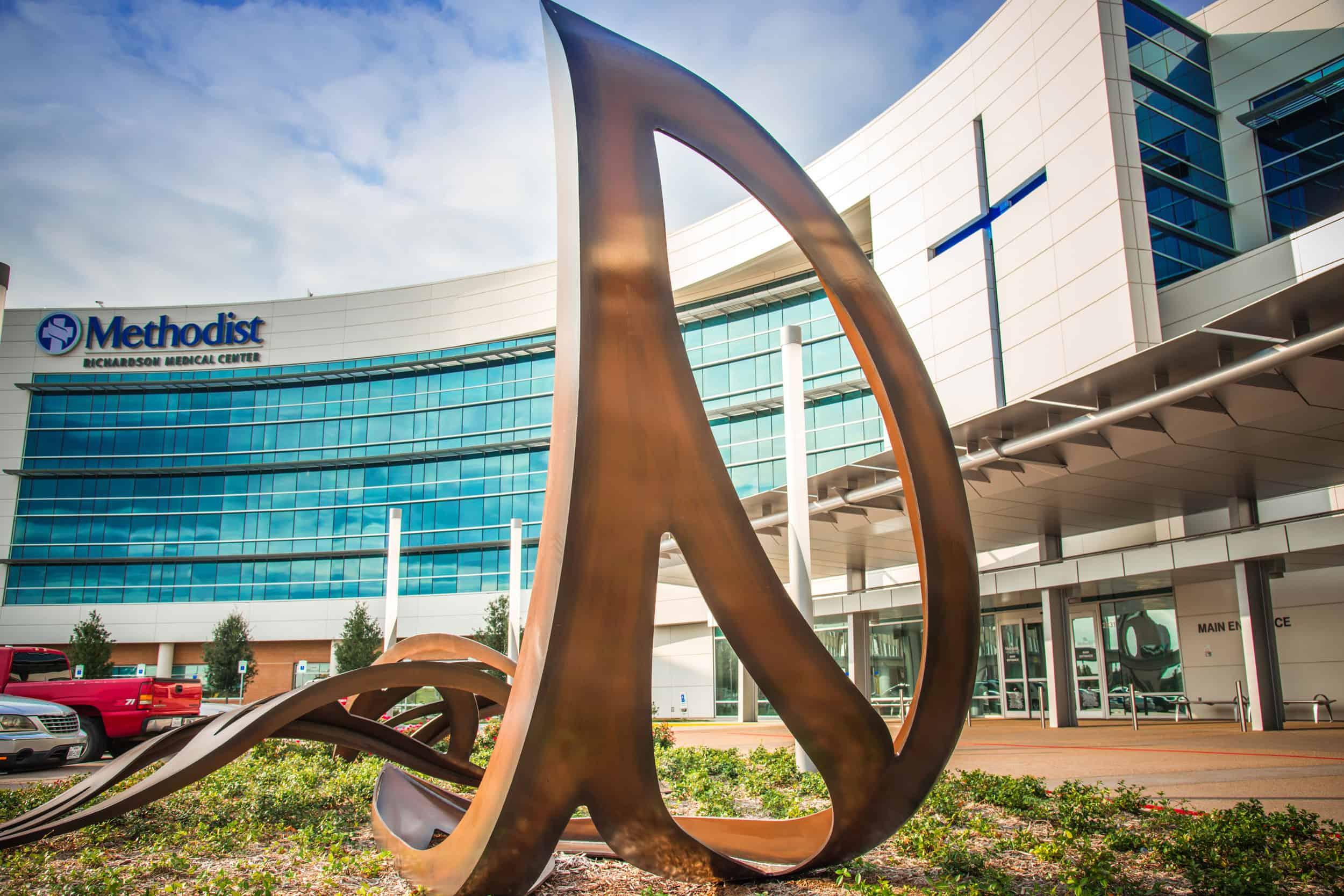 Cascading Leaves Methodist Richardson Medical Center