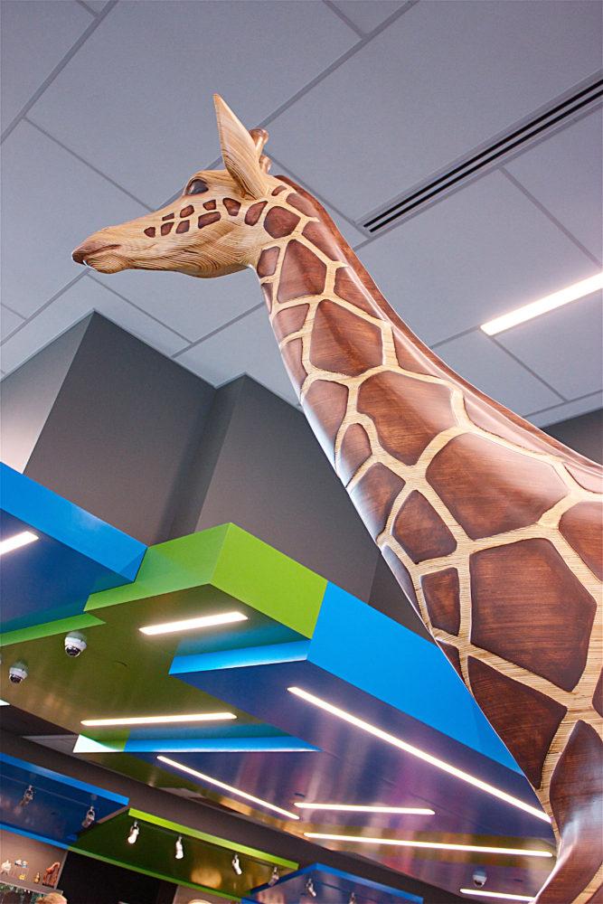 Giraffe Zoo Gift Shop