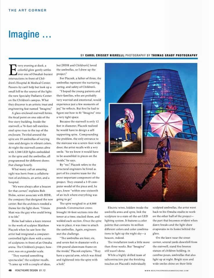 Healthcare Design Imagine Article