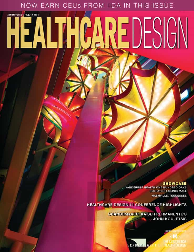 Healthcare design Imagine Children's Hospital Magazine Cover