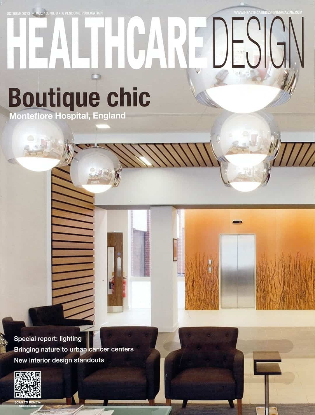 Healthcare Design Cover