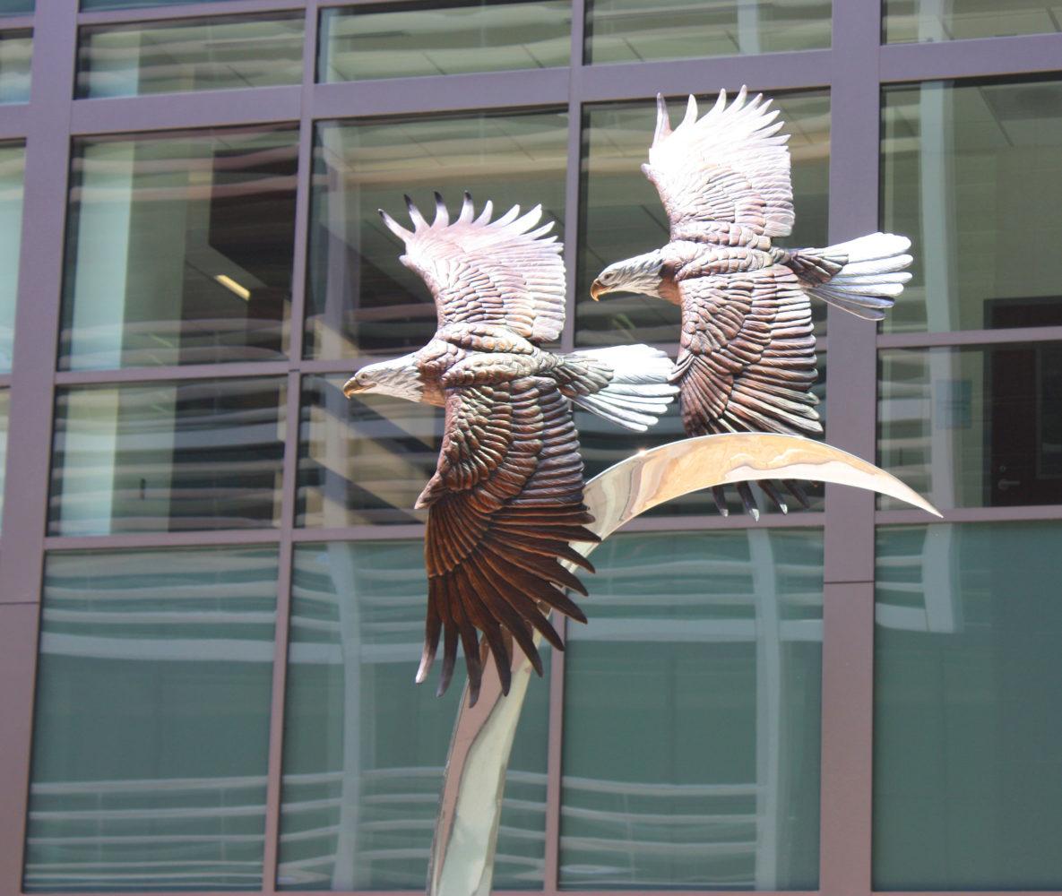 Majestic Flight Sculpture