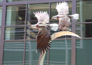 Majestic Flight Sculpture