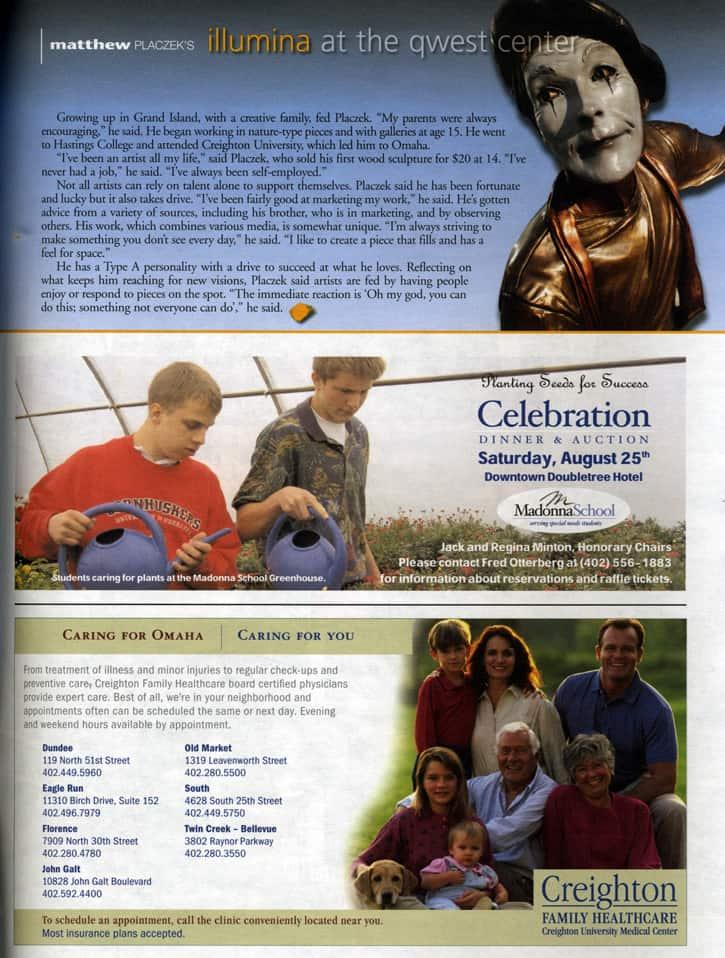 Century Link Creighton Healthcare Magazine
