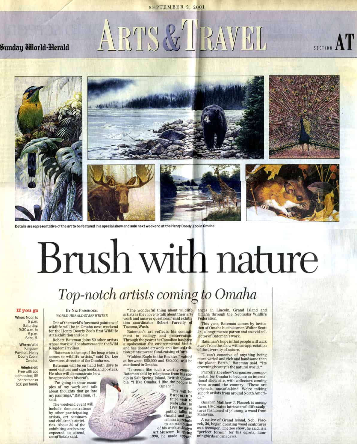 Newspaper Nature Article