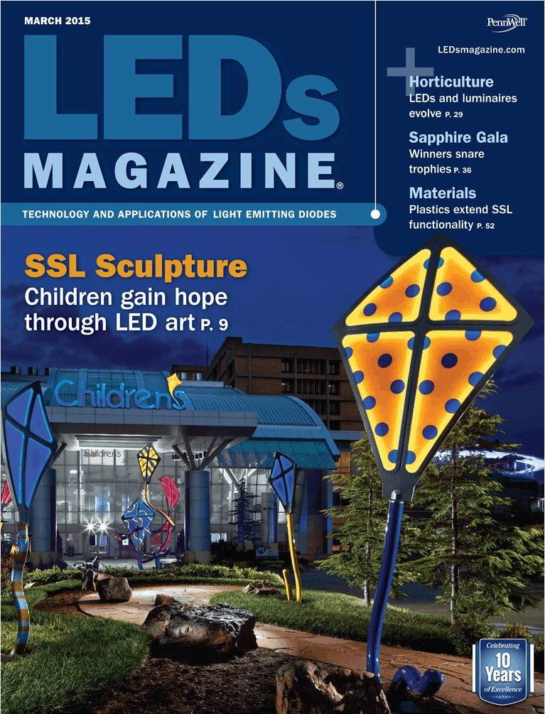 LED Magazine Spirit Cover Children's Hospital
