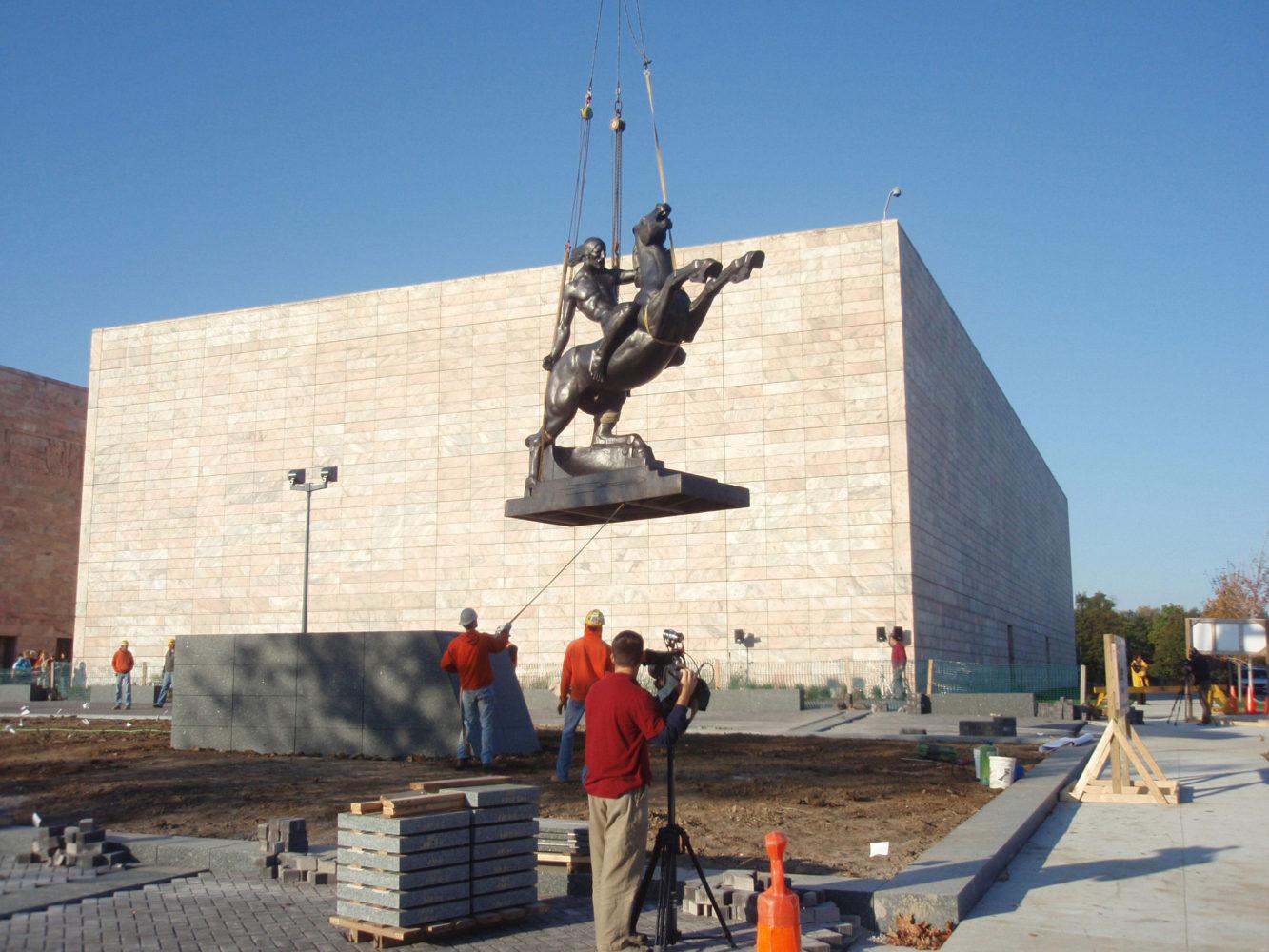 Sioux Warrior Installation