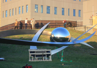 Soaring Sculpture Installation