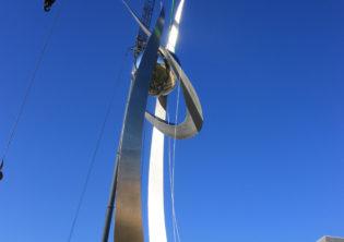 Soaring Sculpture Installation