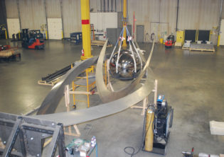 Soaring Sculpture Installation and Assembly