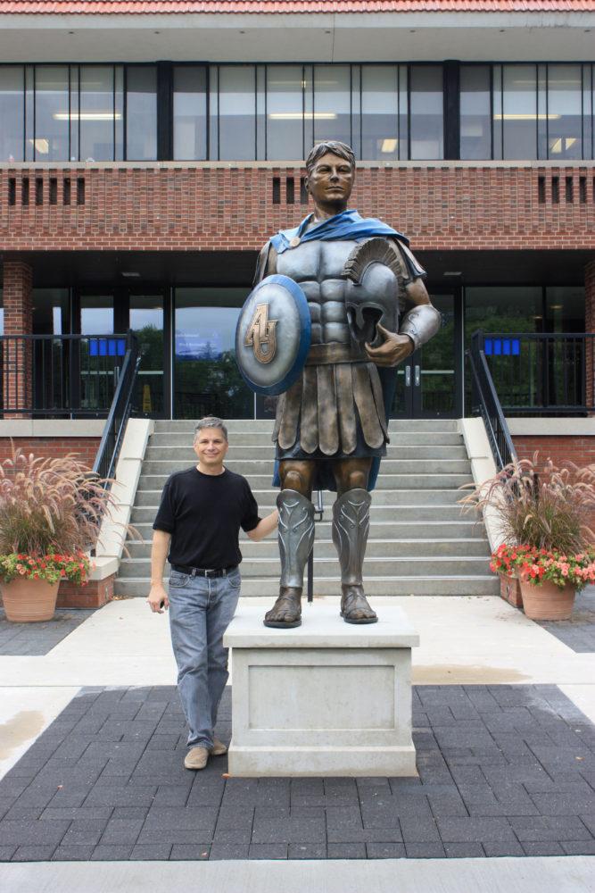 Spartan Sculpture Matthew Placzek