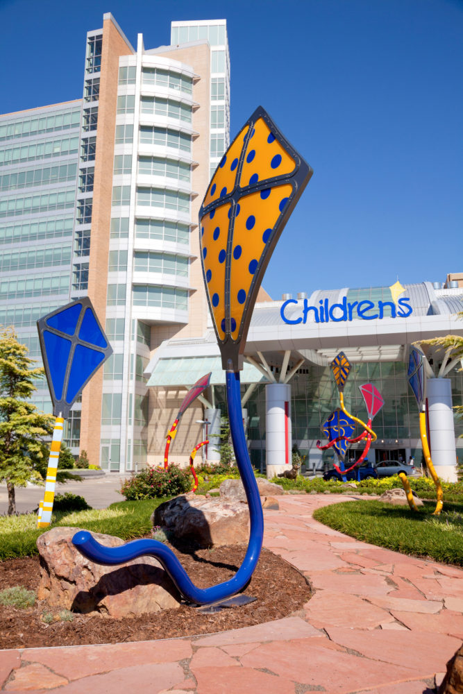Kites Spirit Sculpture Children's Hospital