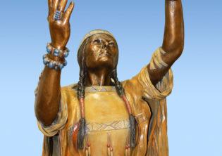 Te Ata Sculpture
