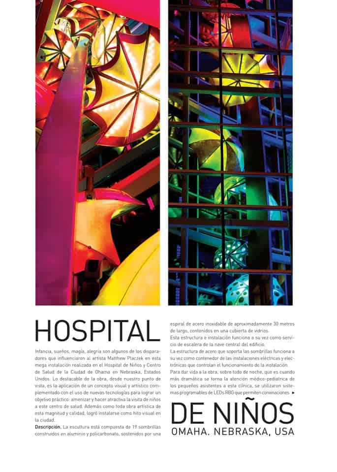 Imagine Children's Hospital Article Megaluz Magazine en Espanol