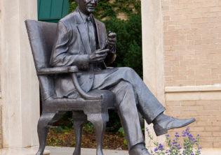 bronze sculpture Clifford Hardin