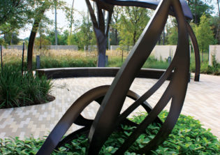 Healing garden Sculpture