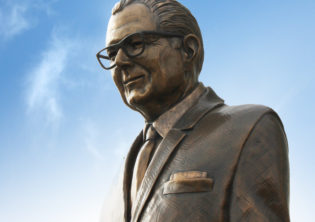 John Lucas Bronze Monumental statue