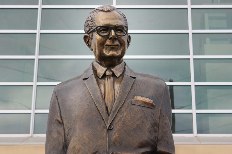 Bronze Statue John Lucas