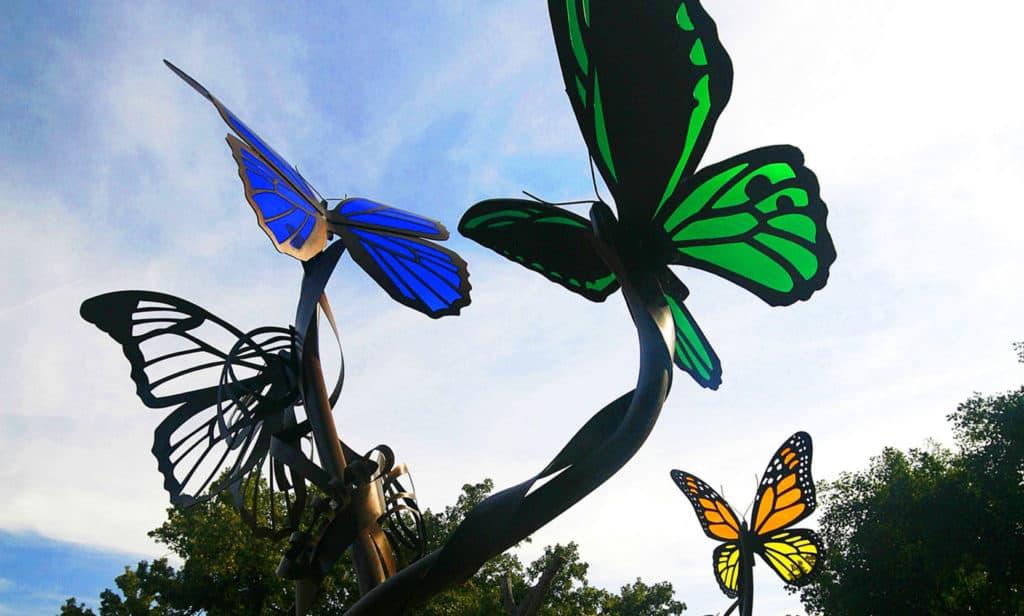 Metamorphosis Acrylic Butterflies