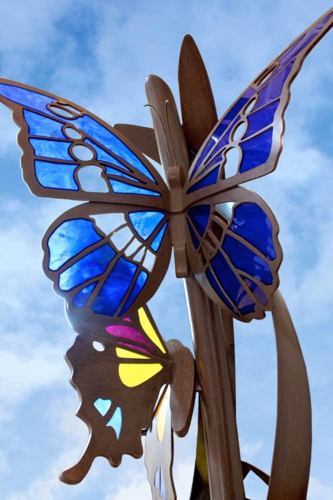 Acrylic Swallowtail Butterfly