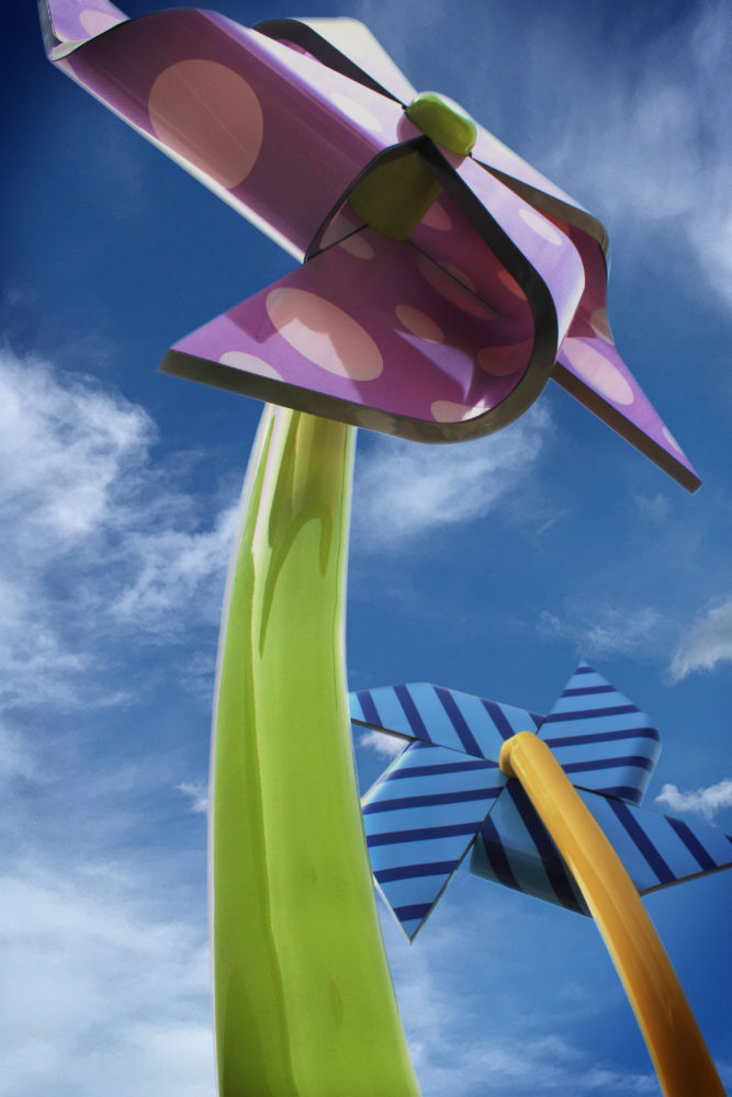 Pinwheels Children's Hospital Sculpture