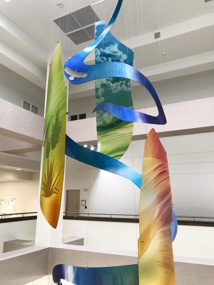 Hanging Atrium Sculpture