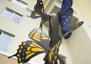 Essence Butterfly Sculpture